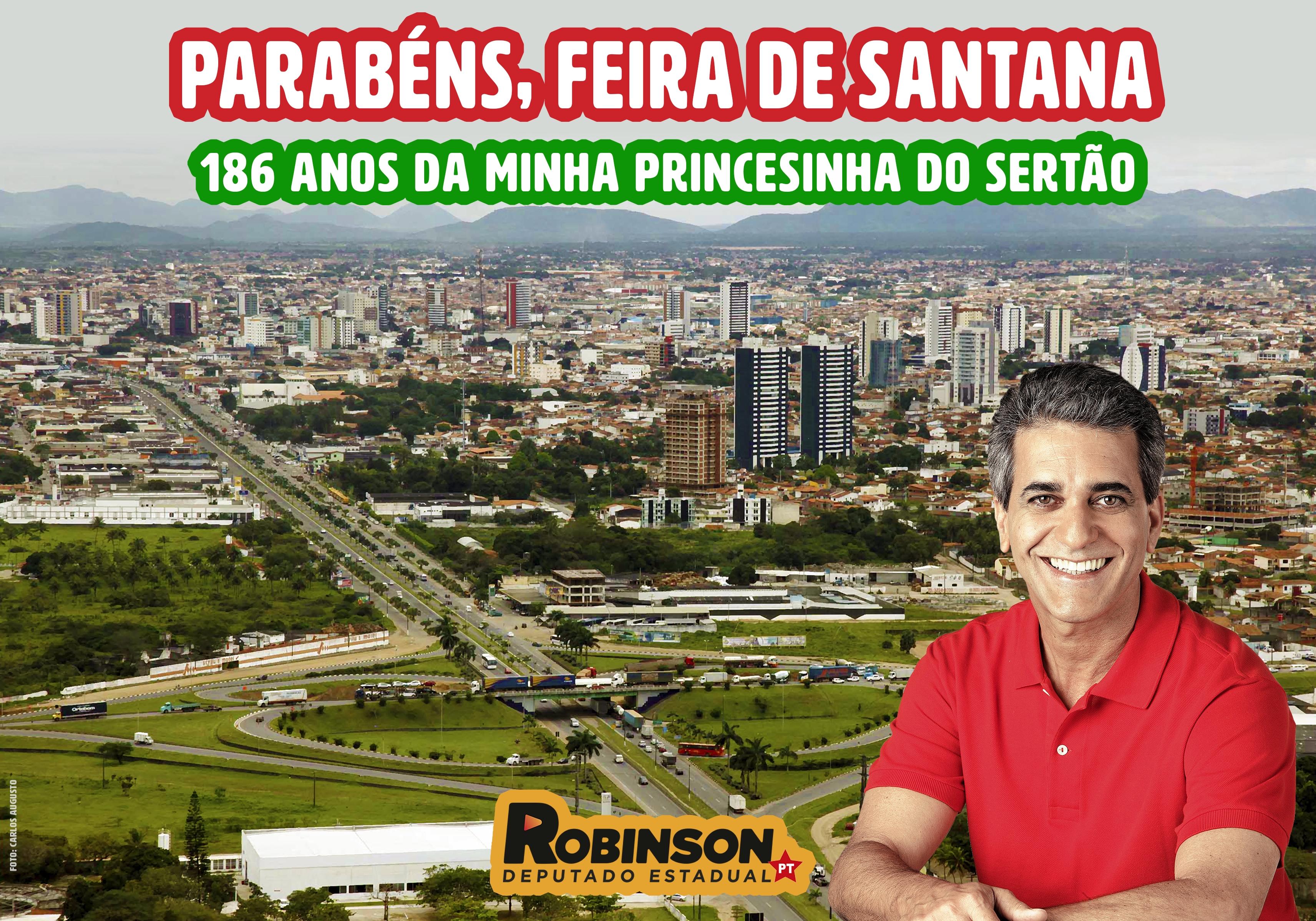 Aniversário de Feira - Robson Almeida