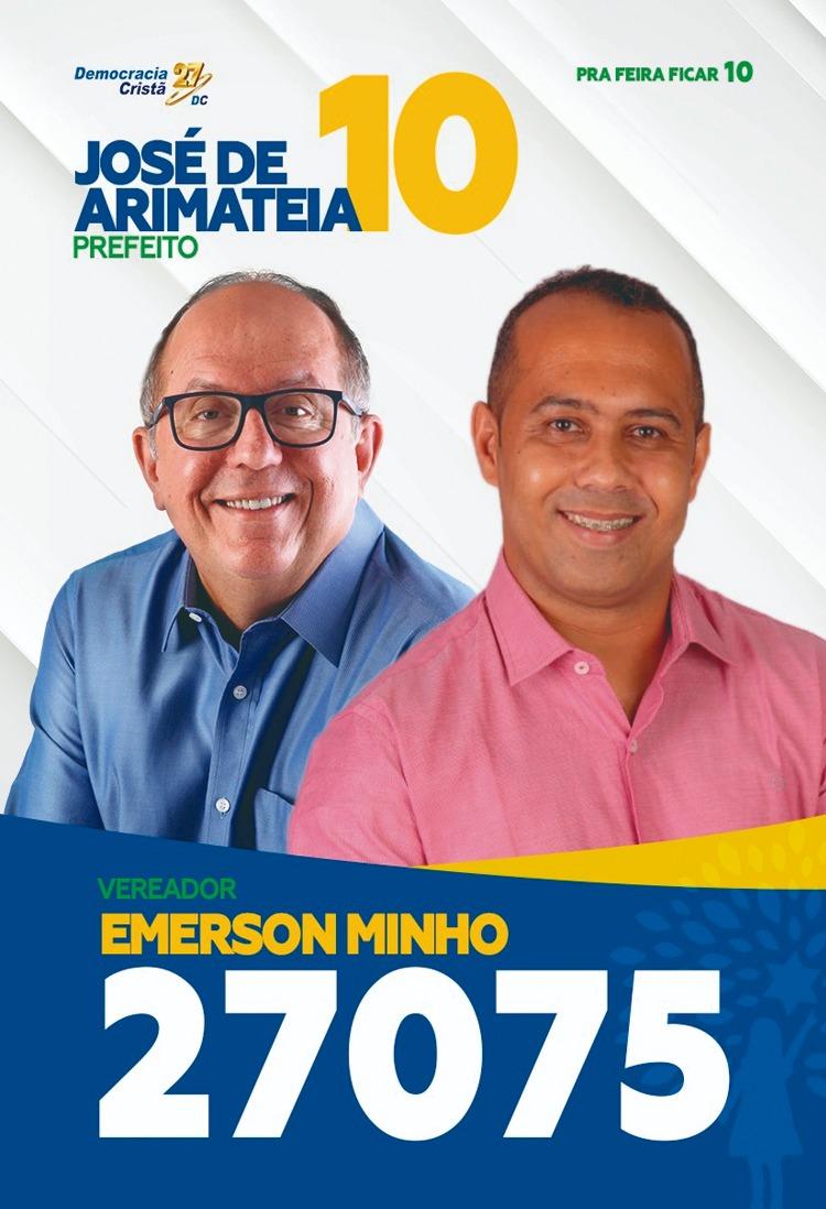 Santinhos - Emerson Minho