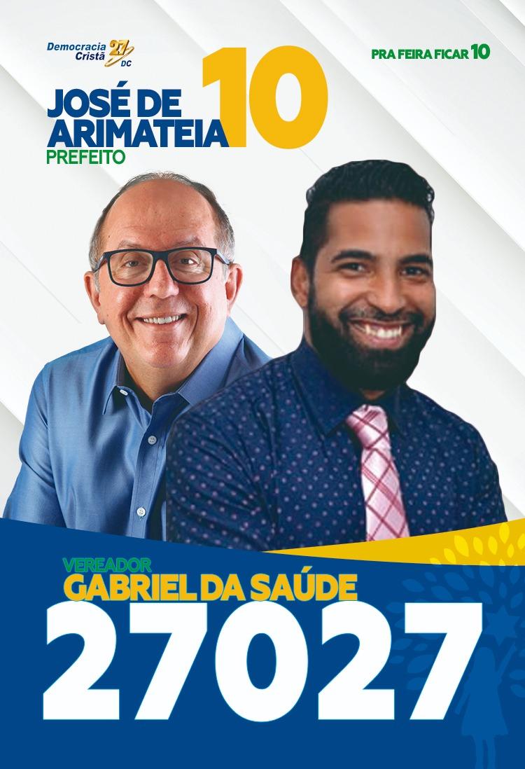 Santinhos - Gabriel da Saúde