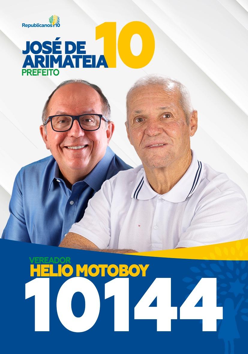Santinhos - Helio Motoboy