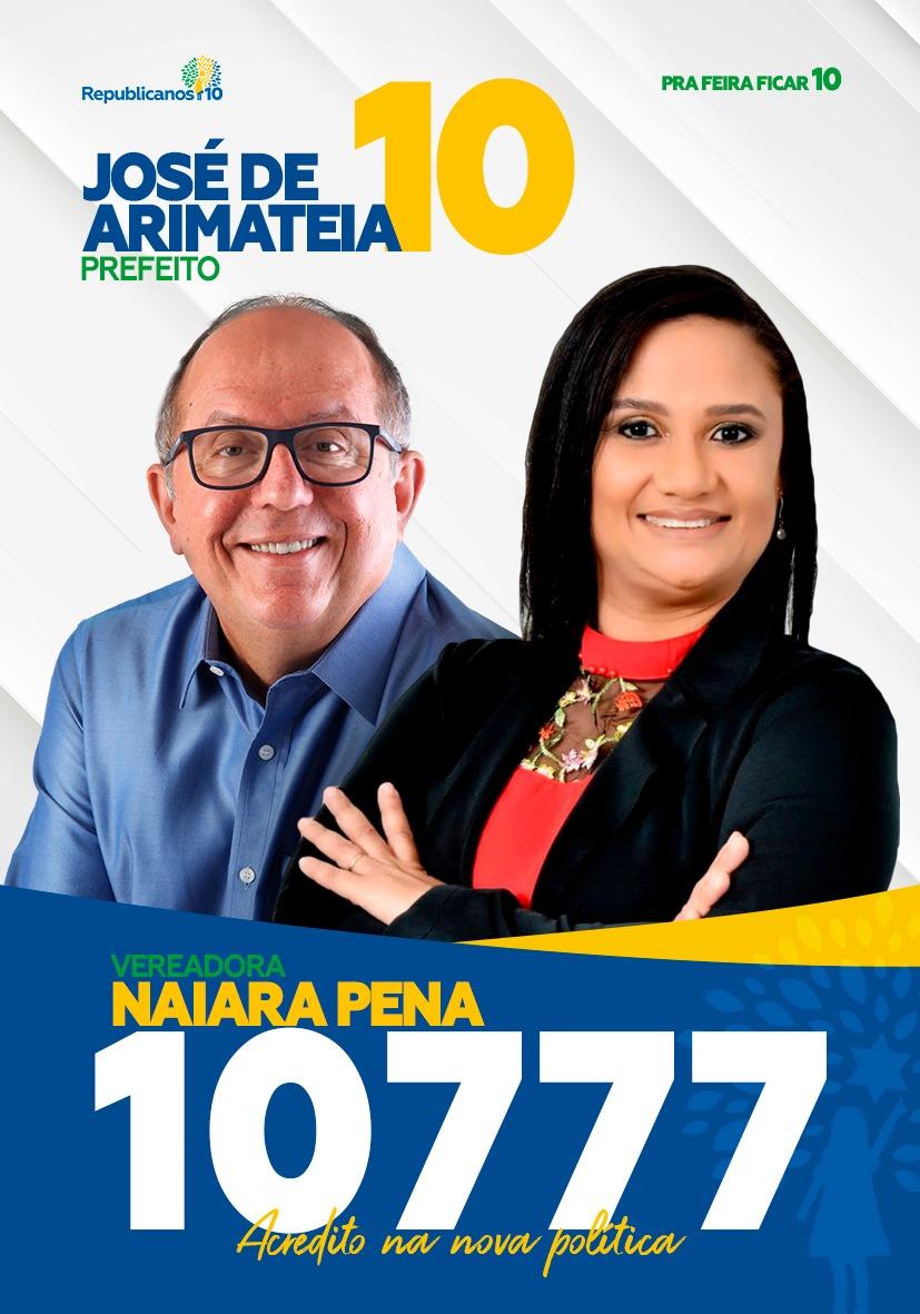 Santinhos - Naiara Pena