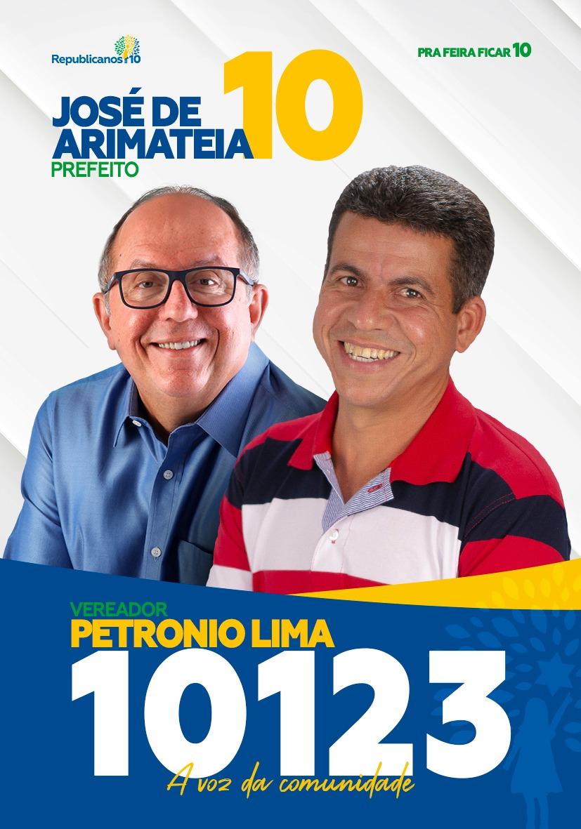 Santinhos - Pretonio Lima