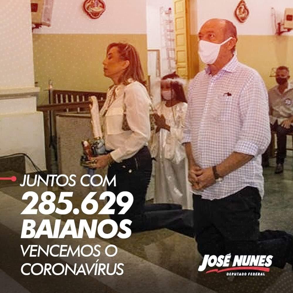 Zé Nunes vence o covid-19