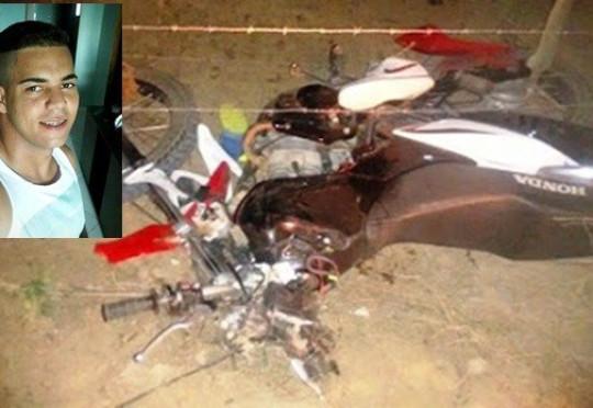 Barrocas: Jovem perde a vida após colidir moto em cerca de arame